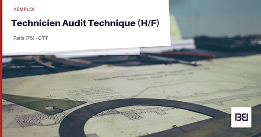 Technicien Audit Technique