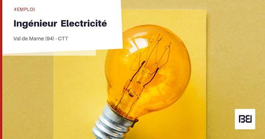 INGÉNIEUR EN ELECTRICITÉ