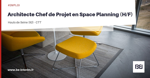 Chef de projet Space planning