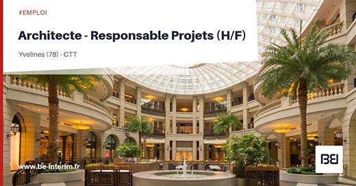 Architecte - Responsable Projets