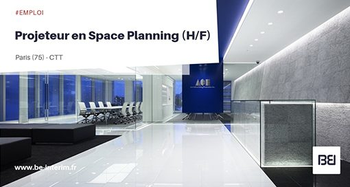 Projeteur en Space Planning