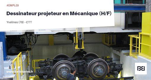 Dessinateur projeteur en Mécanique