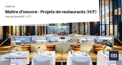 Maître d'oeuvre - Projets de restaurants