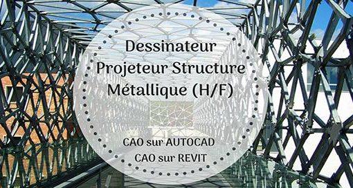 Projeteur structure métallique