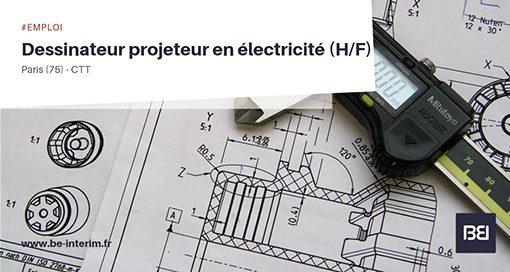DESSINATEUR PROJETEUR EN ELECTRICITE,DESSINATEUR PROJETEUR EN ELECTRICITE