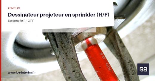 Dessinateur Projeteur en Sprinkler