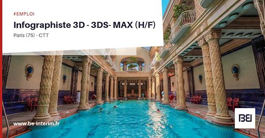 Infographiste 3D - 3dsMax