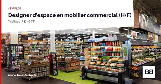 DESIGNER D'ESPACE EN MOBILIER COMMERCIAL