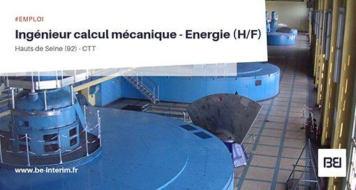 Ingénieur calcul mécanique
