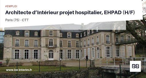 Architecte d'Intérieur projet hospitalier