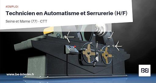 Technicien en Automatisme et Serrurerie