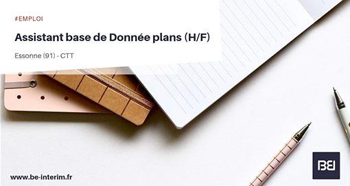 ASSISTANT BASE DE DONNÉE