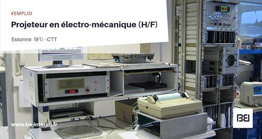 Projeteur en electro-mécanique