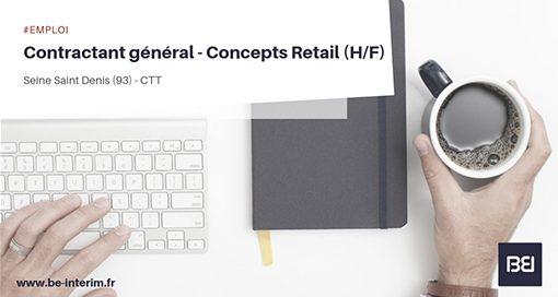 Contractant général - Concepts Retail