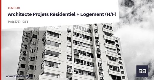 Architecte Projets résidentiels